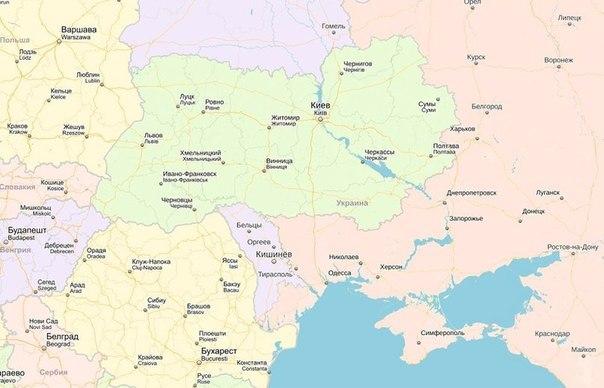 Спасительная карта для детей Юго-Востока Украины