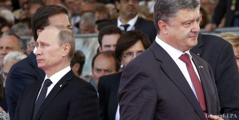 Встреча президента России Владимира Путина и главы Украины Петра Порошенко в Минске отменена