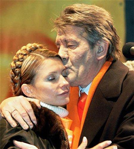 ющенко-и-тимошенко
