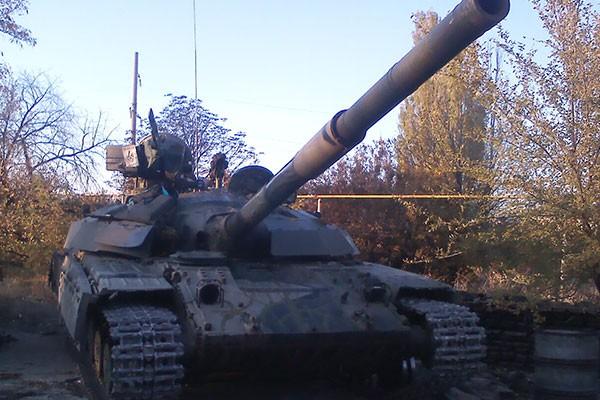 Ополченцы ждут наступления украинской арми
