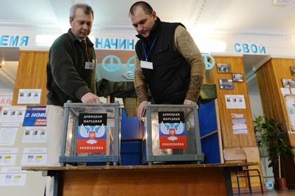 В Донецкой и Луганской республиках начались выборы