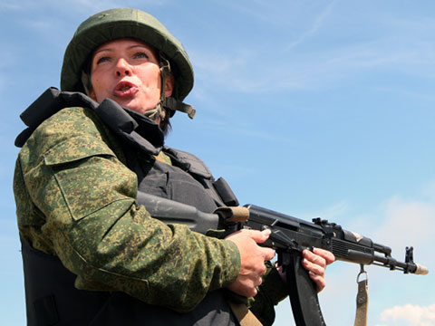 Солдат Джейн по-русски
