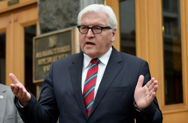 UKRAINE-GERMANY-RUSSIA-CRISIS-POLITICS-EU