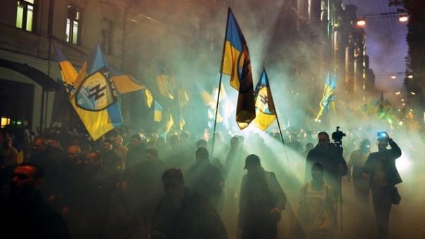 UKRAINE-HISTORY-UPA-NATIONALIST-DEMO