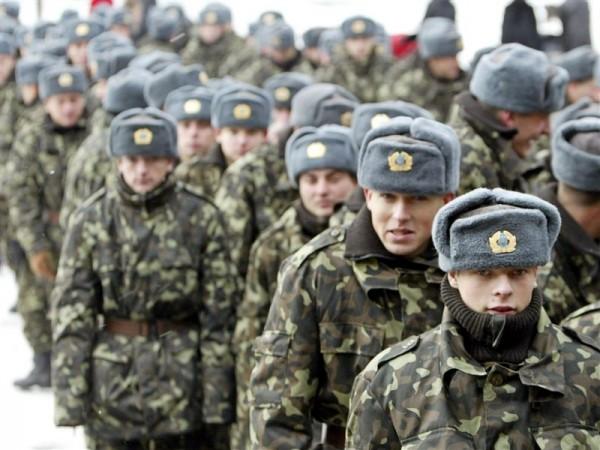 Украина дарит новогодний подарок призывникам