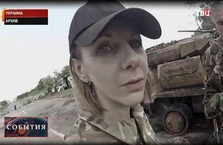 Польская журналистка на Донбассе оказалась снайпером