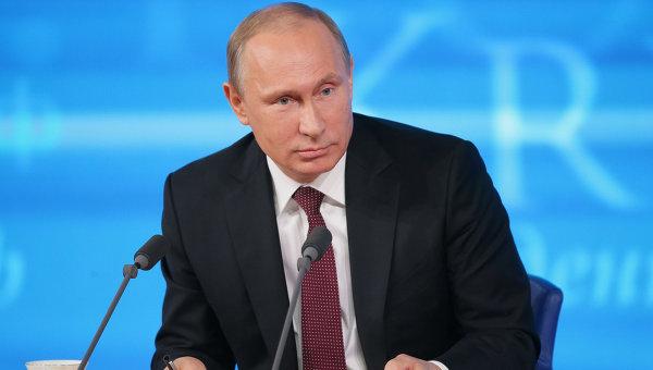 На большую пресс-конференцию Владимира Путина аккредитовали более тысячи журналистов