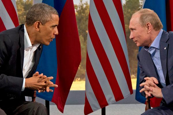 Барак Обама ровняется на Владимира Путина