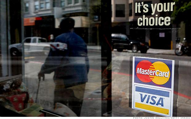 MasterCard и Visa прекратили обслуживание своих карт в Крыму