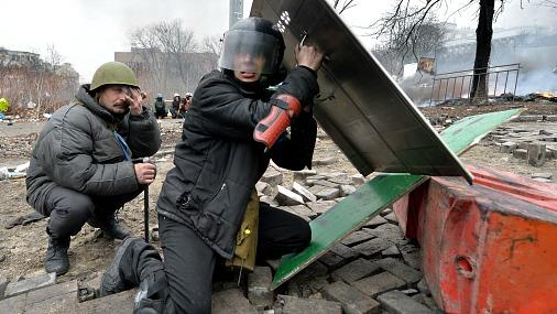 Уникальные фото снайперов — убийц на укрофашистском майдане