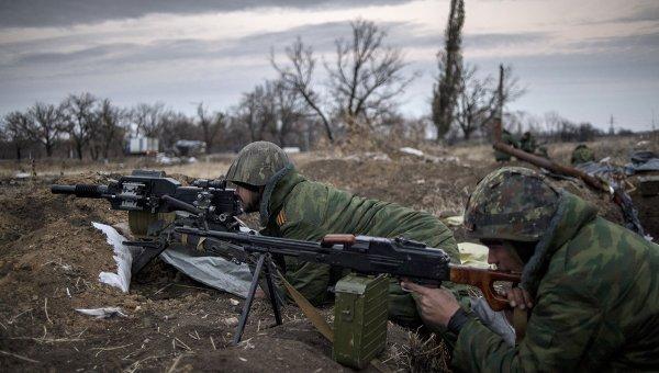 Наступление армии Новороссии