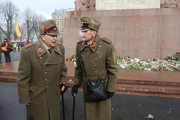 Латвия снова наплевала на решения Нюрнберга