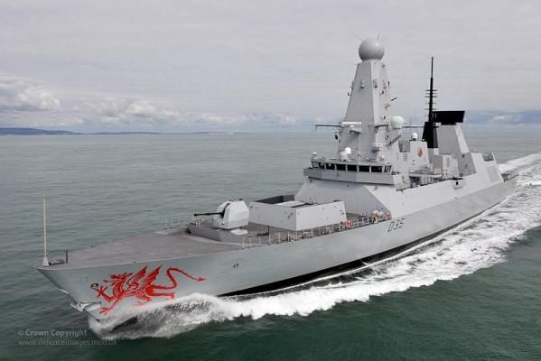 Эскадренный миноносец HMS Daring