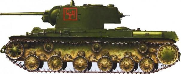 КВ-1 выпуска весны 1942 года.