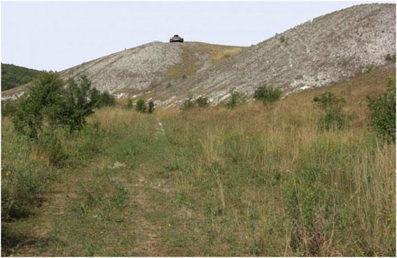 Место, где Дмитрий Шолохов устроил засаду.