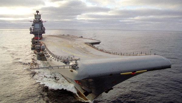 В России разработали новый ядерный суперавианосец
