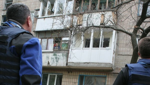 Украинские военные обстреляли сотрудников ОБСЕ под Луганском