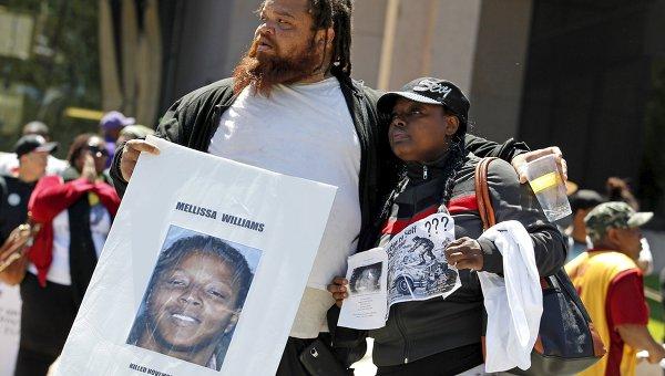 Оправдание полицейского в США привело к акции протеста афроамериканцев