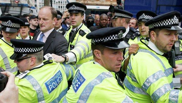 Антиправительственные акции прошли в Лондоне