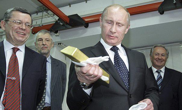 Куда исчезло золото с бирж США, и почему Путин опять прав