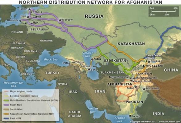 Россия отменила транзит оружия НАТО в Афганистан