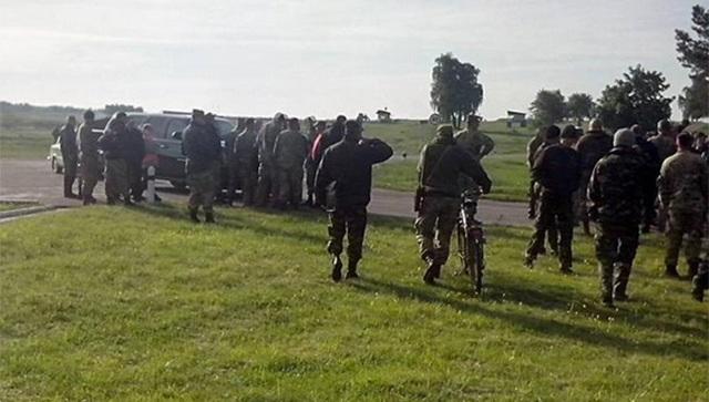 Бунт на Яворовском полигоне