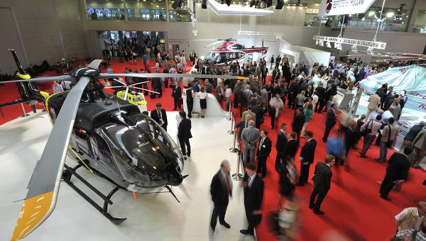 Международная вертолетная выставка Helirussia открывается в Москве