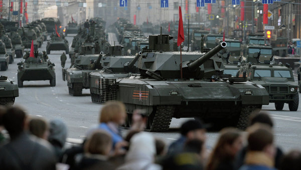 """Зарубежные СМИ: """"Армата"""" станет лидером среди лучших танков в мире"""