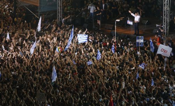 Греческий референдум: США против Китая