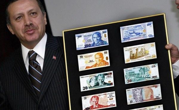 Турецкая лира установила рекорд по длительности падения
