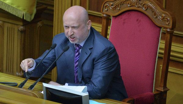 Турчинов переиначил слова Нарышкина о гипотетической войне с Украиной