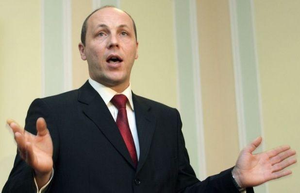 Новый спикер Верховной рады Андрей Парубий выступил за визовый режим с Россией