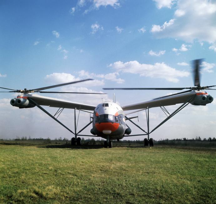 Вертолет В-12: чудо техники (часть 1)