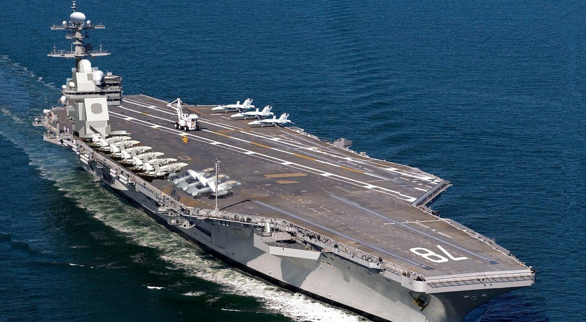 Авианосец США «Джеральд Форд» - хорошая мишень для гиперзвуковых ракет