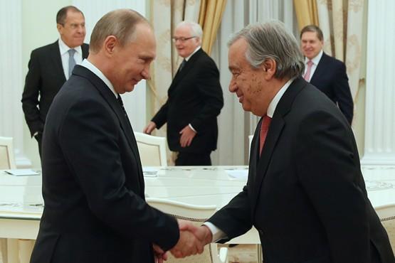 Зачем избранный генсек ООН Гутерреш отправился в Москву?