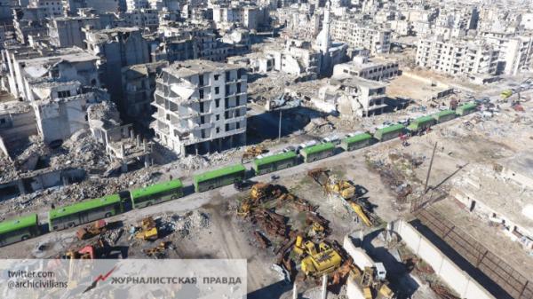 Эвакуация боевиков из Алеппо: кто чуть не сорвал мирный план