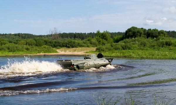 Белорусская модернизация бронетранспортера БТР-70