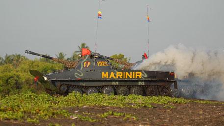 Водоплавающий бронеубийца: как советский ПТ-76 привел в ужас спецназ США