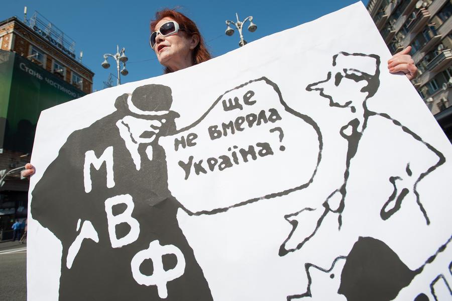 Кому должен — всем прощаю: Украина угрожает МВФ разрывом