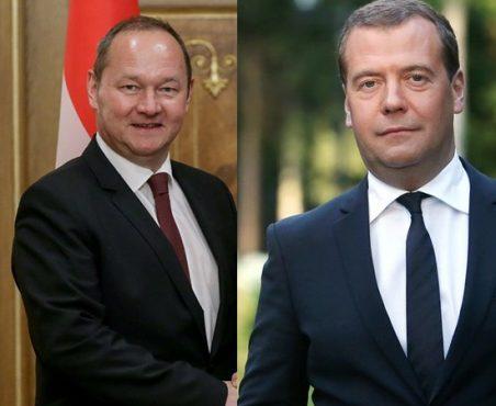 Юрг Шталь «умыл» Медведева и Полтавченко на питерском юридическом форуме
