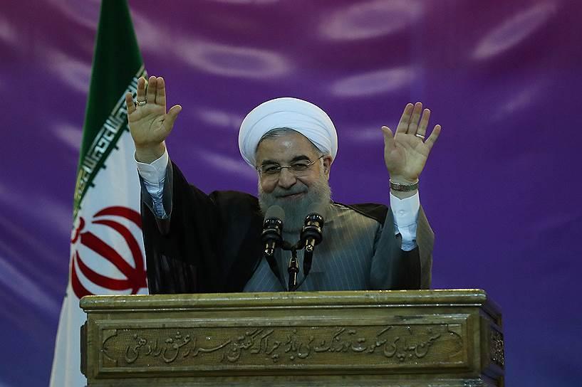 Хасан Роухани победил на выборах президента Ирана