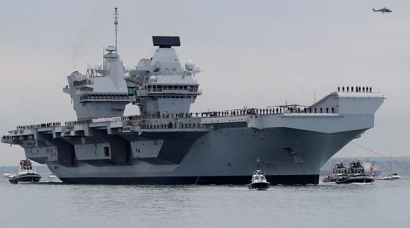 Авианосец «Королева Елизавета» Reuters © Peter Nicholls