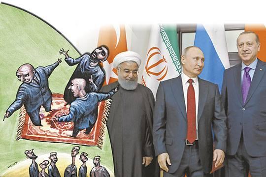 Как Россия, Турция и Иран будут делить Сирию