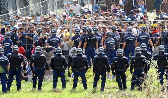 Венгерский бунт: нелегалы довели Европу до крайностей