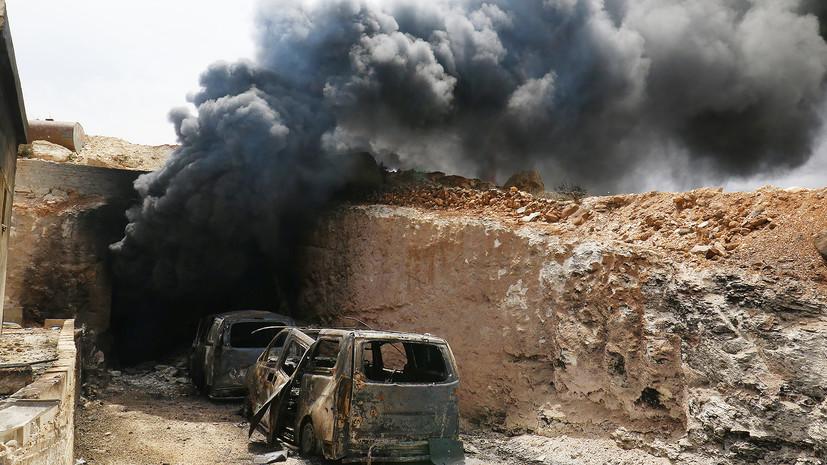 Провокация в Сирии: баллоны с хлором для репетиции химической атаки