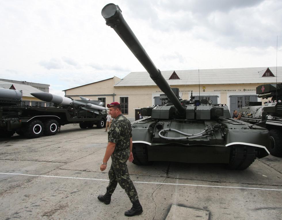 """Украинский танк """"Оплот"""". Фото ©РИА Новости/Григорий Василенко"""