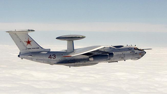 Самолет дальнего радиолокационного обнаружения и управления А-50.