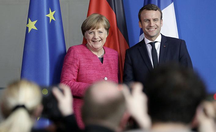 Ангела Меркель и Эммануэль Макрон дадут бой Трампу на саммите «большой семерки»