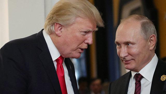 """Перед встречей с Владимиром Путиным у Дональда Трампа нашли """"деньги КГБ"""""""