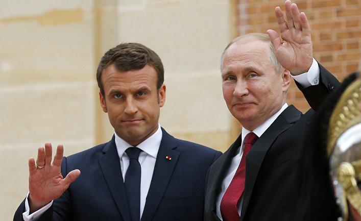 Макрон: Европа не может полностью доверять США — надо работать с Россией